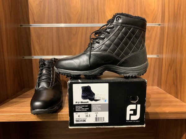 Ladies Footjoy boot size UK4 only.