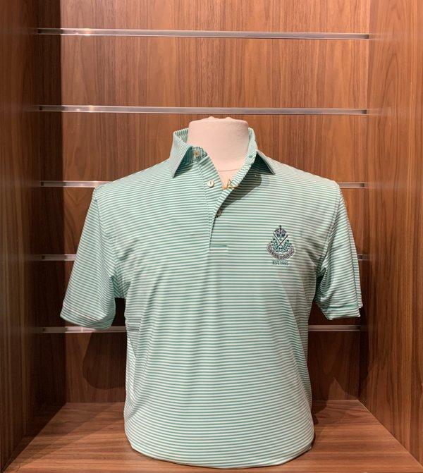 Peter Millar Hales crested shirt