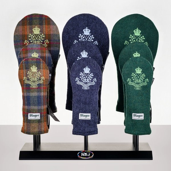 Donegal Tweed Headcover - Set of 3 for Dr, Fwy and Hy.
