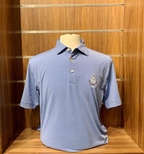 Peter Millar Jubilee crested shirt