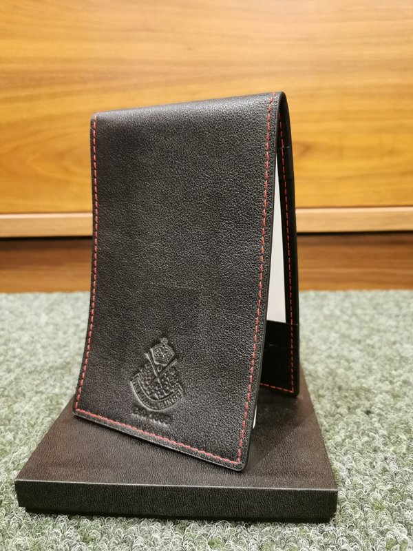 Leather Yardage Book Cover