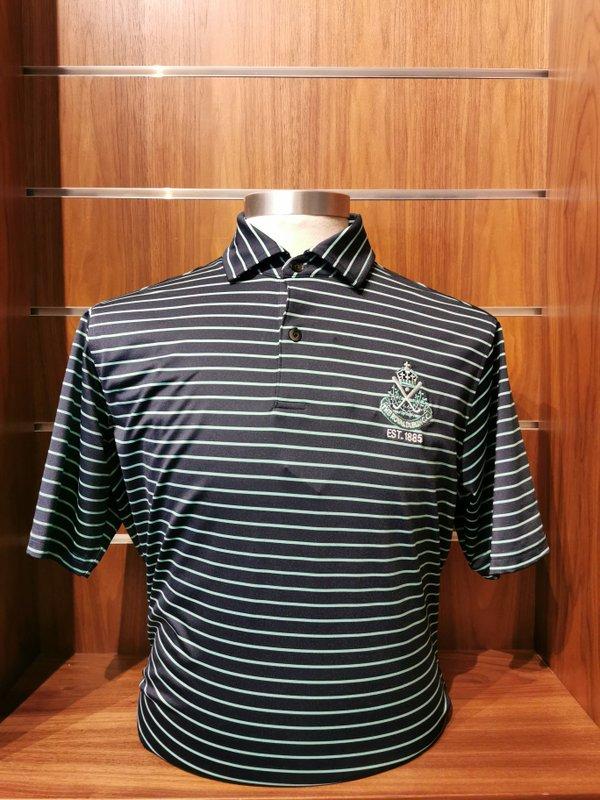 F&G Raleigh stripe polo shirt