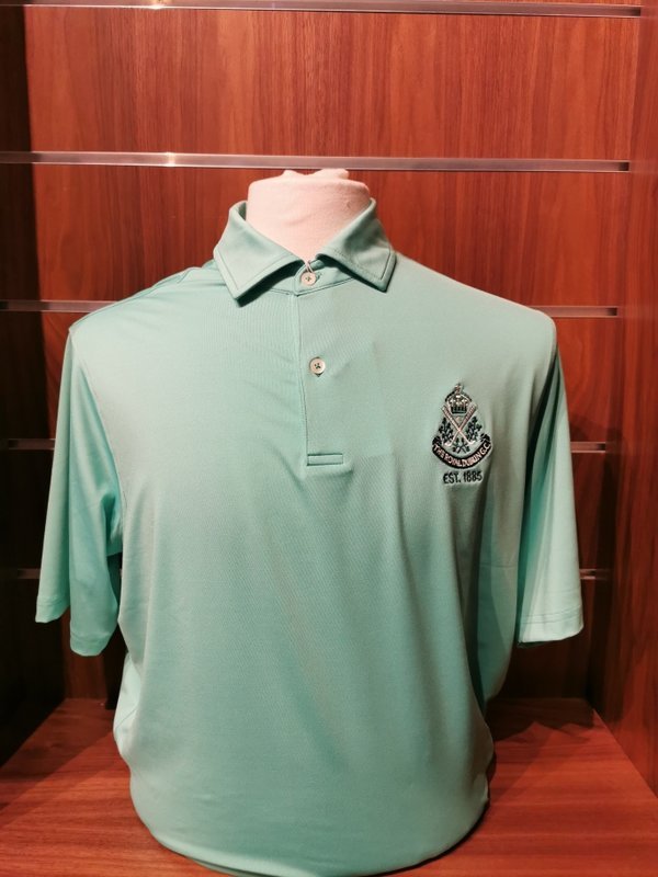 F&G TOURN Solid Tech Jersey Polo