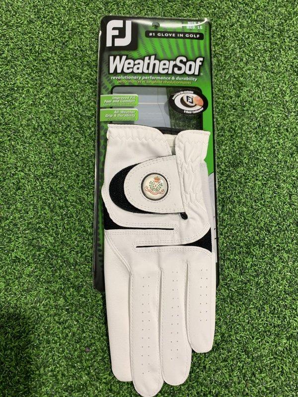 Footjoy WSof Crested Glove - Gents