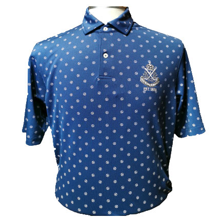 F&G The STEERING Print Polo