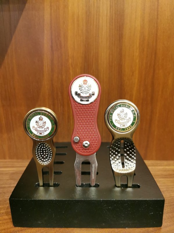 Custom Divot Tools with RDGC brass ball marker