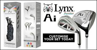 Lynx Ai Junior golf sets FROM