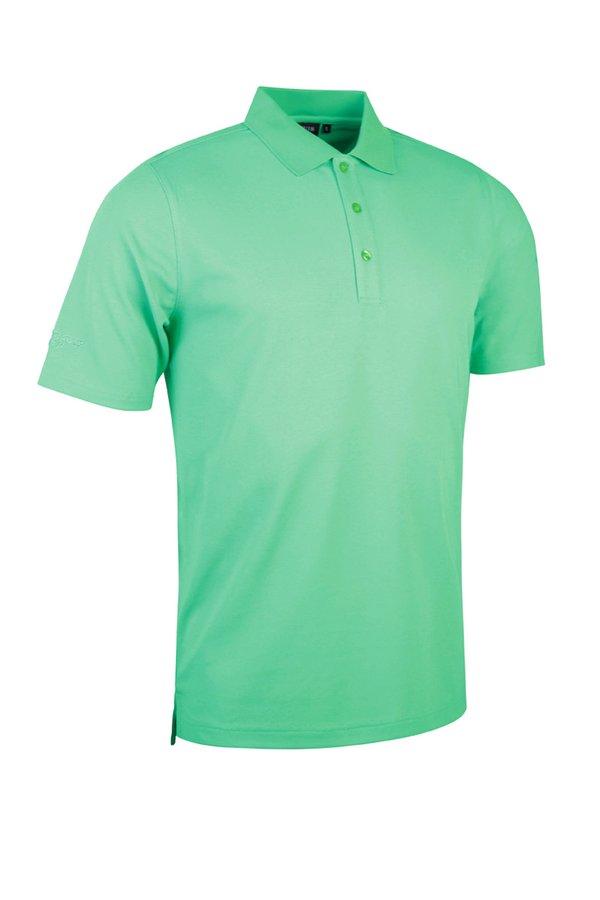 Glenmuir plain polo shirt - Spring Green