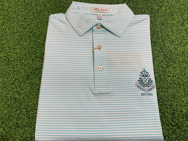 Peter Millar Hales crested shirt