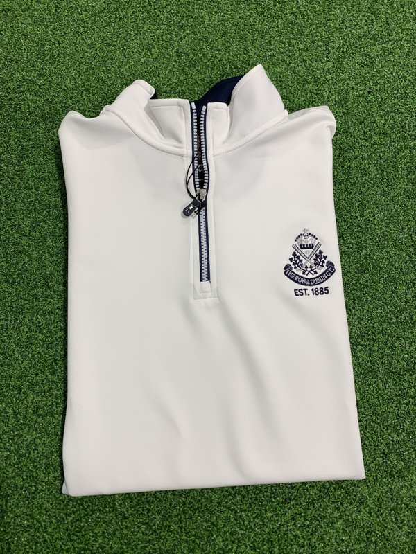 Fairway & Greene Tech Solid Zip Top - LIMITED STOCK AVAILABLE.