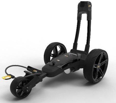 Powakaddy FX3 with lithium battery.