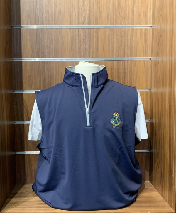 Peter Millar - Galway Sleeveless Zip Top